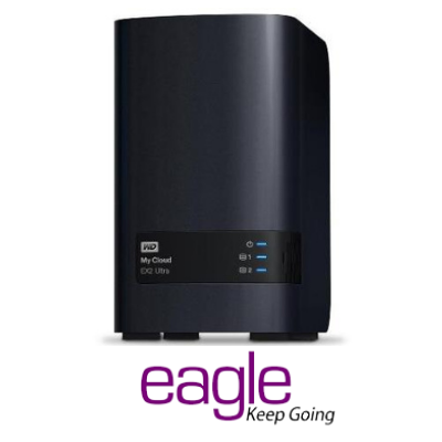 WD My Cloud EX2 Ultra 2Bay Network Attached Storage