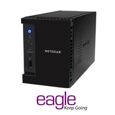 Netgear ReadyNAS 212 2Bay- Diskless Network Attached Storage