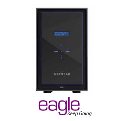 Netgear ReadyNAS 428 Network Attached Storage Server- 8Bay Diskless
