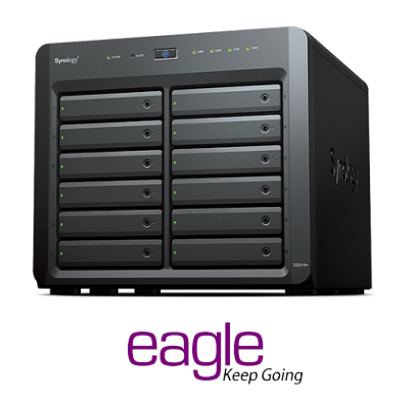 Synology Plus DS2419+ 12 Bays Network Attached Storage Drive